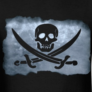 Pirate Flag - Big - Men's T-Shirt