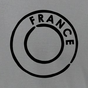 Slate France Postmark Men - Men's T-Shirt by American Apparel