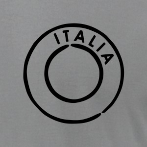 Slate Italia - Italy Postmark T-Shirts (Short sleeve) - Men's T-Shirt by American Apparel