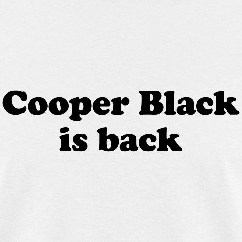 Cooper Black is back