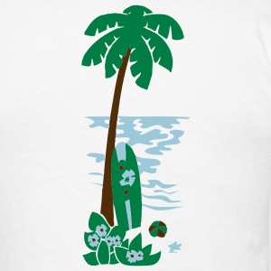 Island Palm - Men's T-Shirt