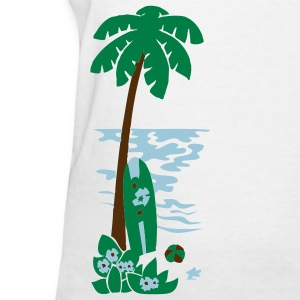 Island Palm - Women's T-Shirt