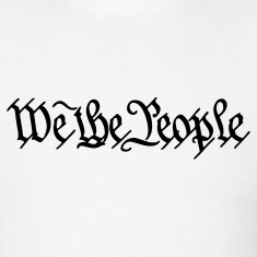 White We the People US Constitution Men