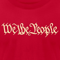 Brown We the People US Constitution Men