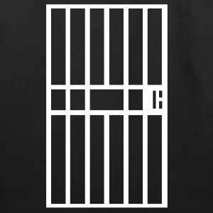 Black Jail cell prison bars Accessories - Eco-Friendly Cotton Tote