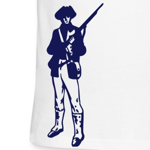 Sky/navy American Revolution Patriot Men - Men's Ringer T-Shirt