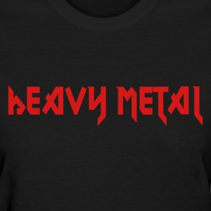 Black Heavy Metal Women - Women's T-Shirt
