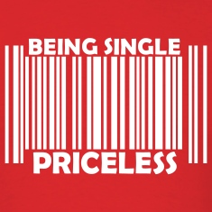 Red Being Single Priceless T-Shirts