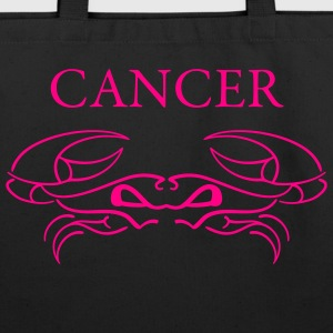 Black cancer_shirt Accessories - Eco-Friendly Cotton Tote
