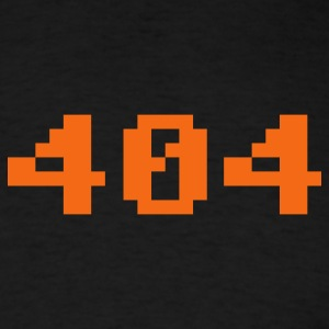 Black 404 Men - Men's T-Shirt