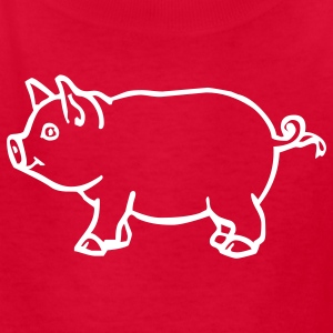 Red pig Kids & Baby - Kids' T-Shirt