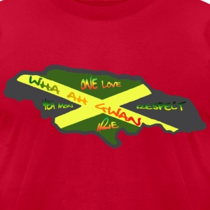 Jamaica Speech - Men's T-Shirt by American Apparel
