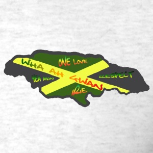 Ash  speak jamaican Men - Men's T-Shirt