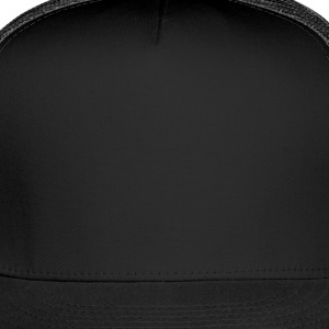 Black High Maintenance With Background And Outline Junior's Tees - Trucker Cap
