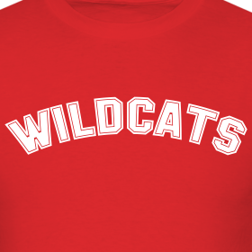 Design ~ WILDCATS HIGH SCHOOL COSTUME T-Shirt