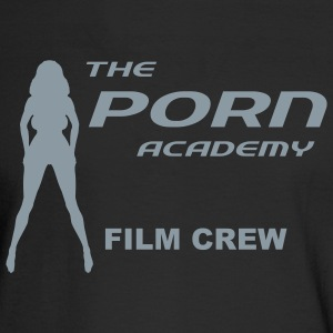 Black porn_academy_film_t Men - Men's Long Sleeve T-Shirt