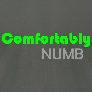 Comfortably Numb - Men's T-Shirt by American Apparel