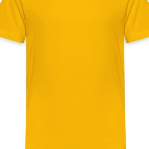 Yellow I Bleed Purple and Gold for LSU Kids Shirts - Toddler Premium T-Shirt