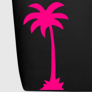 Black Tropical Beach Palm tree  Accessories - Eco-Friendly Cotton Tote