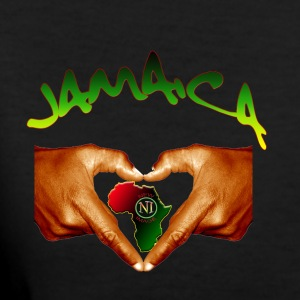 Jamaica One Love - Women's V-Neck T-Shirt