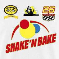 Design ~ SHAKE'N BAKE T-Shirt with Print Decals