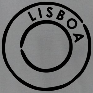 Slate Lisboa Postmark T-Shirts (Short sleeve) - Men's T-Shirt by American Apparel
