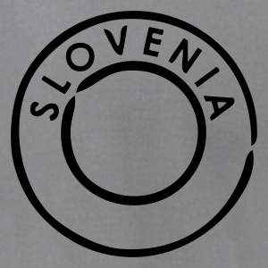 Slate Slovenia Postmark T-Shirts (Short sleeve) - Men's T-Shirt by American Apparel