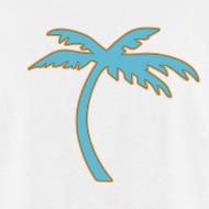 Design ~ TROPICS (Palm Tree on back) T-Shirt