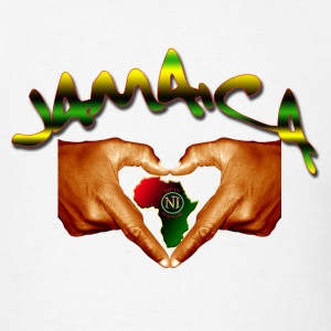 White jamaica T-Shirts (Short sleeve) - Men's T-Shirt