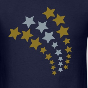 Navy Star Cascade, 3 Color T-Shirts (Short sleeve) - Men's T-Shirt