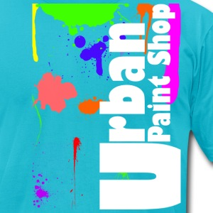 Urban Paint Splatter T Mens - Men's T-Shirt by American Apparel