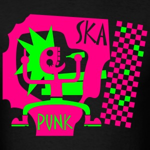 Black Skapunk T-Shirts (Short sleeve) - Men's T-Shirt