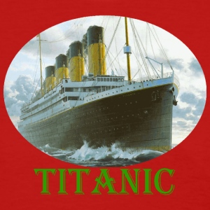 Red Titanic Women's Tees (Short sleeve) - Women's T-Shirt