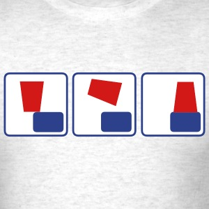 Flipcup - Men's T-Shirt