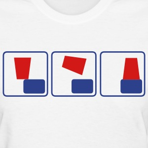 White flipcup Women's Tees (Short sleeve) - Women's T-Shirt