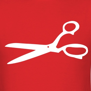 Red Scissors T-Shirts (Short sleeve) - Men's T-Shirt
