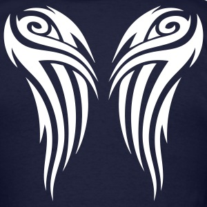 Navy Tribal Wings T-Shirts - Men's T-Shirt