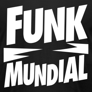 Funk Mundial T-Shirt - Men's T-Shirt by American Apparel