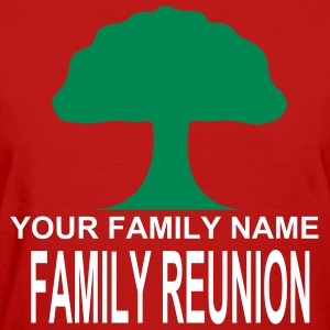 Red ***ON SALE!*** FAMILY REUNION -WW(w Women's Tees (Short sleeve) - Women's T-Shirt