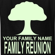 Black ***ON SALE!*** FAMILY REUNION -WW(w Kids Shirts