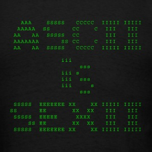 ASCII is SEXII Tee - Men's T-Shirt