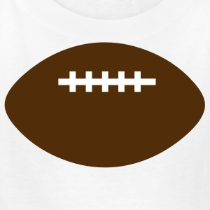 White football 2 color Kids Shirts - Kids' T-Shirt