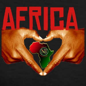 Africa One Love - Women's V-Neck T-Shirt