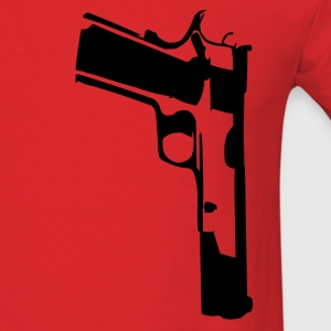 Red 1911 T-Shirts (Short sleeve) - Men's T-Shirt