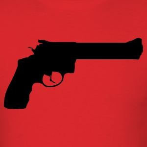 Red revolver T-Shirts (Short sleeve) - Men's T-Shirt
