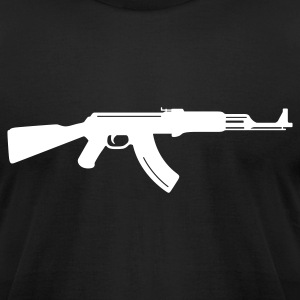 AK47 - Mens - Men's T-Shirt by American Apparel