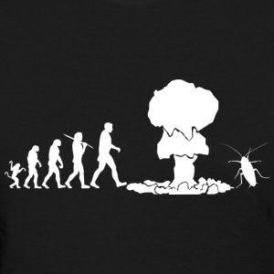 Evolution - dark - Women's T-Shirt