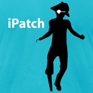 iPatch - vector - Men's T-Shirt by American Apparel