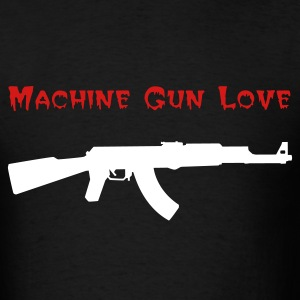 Machine Gun Love Shirt - Men's T-Shirt