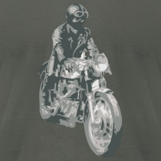 Asphalt motorcycle cafe racer T-Shirts (Short sleeve)